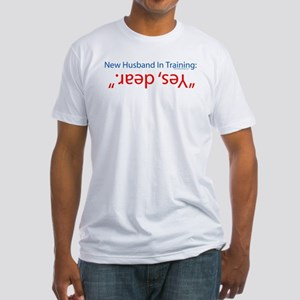 new husband in training Fitted T-Shirt