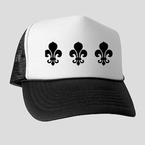 fleur-de-lis_bowl Trucker Hat