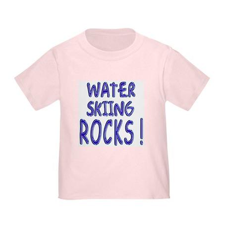 Water Skiing Rocks ! Toddler T-Shirt