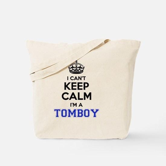 Cute Tomboy Tote Bag