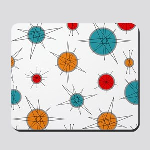 Atomic Era Planets Mousepad