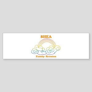SHEA reunion (rainbow) Bumper Sticker