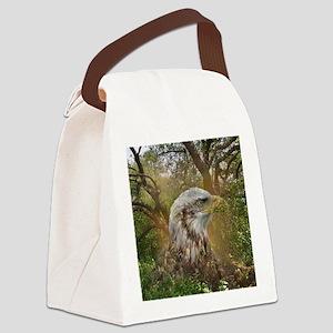 Magic Animals HAWK Canvas Lunch Bag