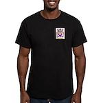 Hobbins Men's Fitted T-Shirt (dark)