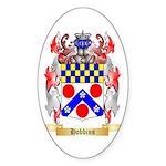 Hobbins Sticker (Oval 50 pk)