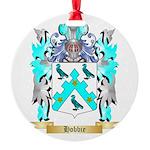 Hobbie Round Ornament