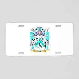 Hobbie Aluminum License Plate