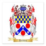 Hobbes Square Car Magnet 3