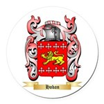 Hoban Round Car Magnet