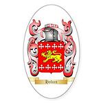 Hoban Sticker (Oval 10 pk)