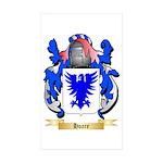 Hoare Sticker (Rectangle 50 pk)
