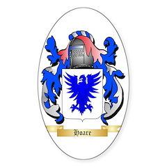 Hoare Sticker (Oval)