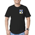 Hoadly Men's Fitted T-Shirt (dark)
