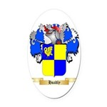 Hoadly Oval Car Magnet