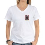 Hives Women's V-Neck T-Shirt