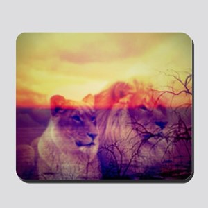 Magic Animals LIONS Mousepad