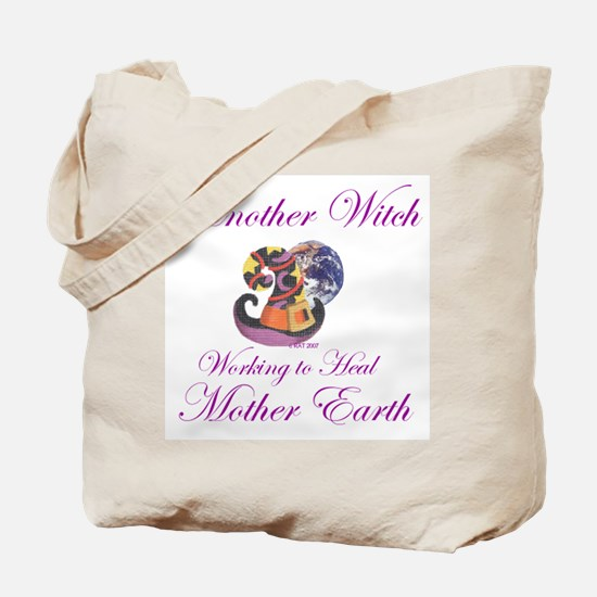 Working 4 Mother Earth Tote Bag