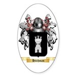 Hitchman Sticker (Oval)