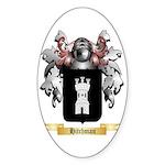 Hitchman Sticker (Oval 50 pk)