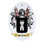Hitchman Ornament (Oval)