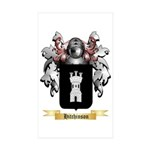 Hitchinson Sticker (Rectangle 10 pk)