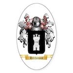 Hitchinson Sticker (Oval)
