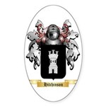 Hitchinson Sticker (Oval 10 pk)