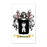 Hitchinson 35x21 Wall Decal