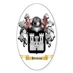 Hitchins Sticker (Oval 10 pk)