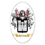 Hitchins Sticker (Oval 50 pk)