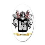 Hitchins 35x21 Oval Wall Decal