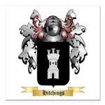 Hitchings Square Car Magnet 3