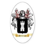 Hitchings Sticker (Oval 50 pk)