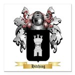 Hitching Square Car Magnet 3