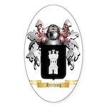 Hitching Sticker (Oval 50 pk)
