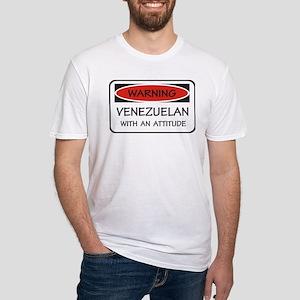 Attitude Venezuelan Fitted T-Shirt