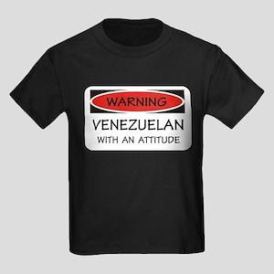 Attitude Venezuelan Kids Dark T-Shirt