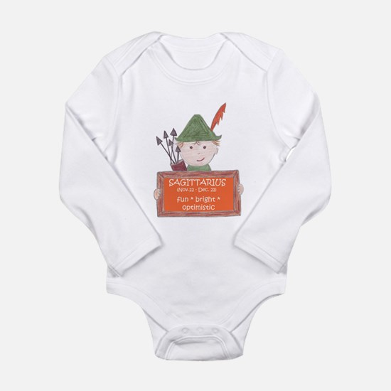 Sagittarius Sign for Boy Infant Bodysuit Body Suit