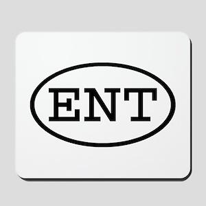 ENT Oval Mousepad