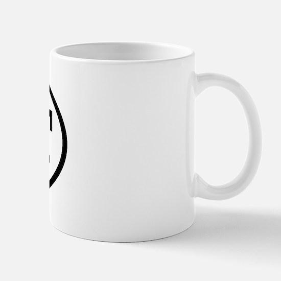 ENT Oval Mug