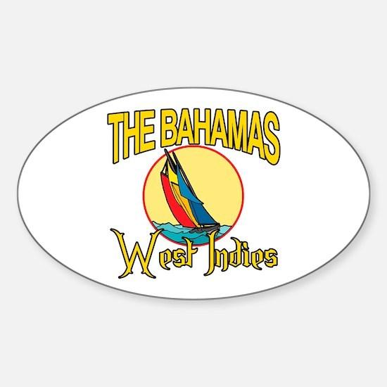 The Bahamas Oval Decal