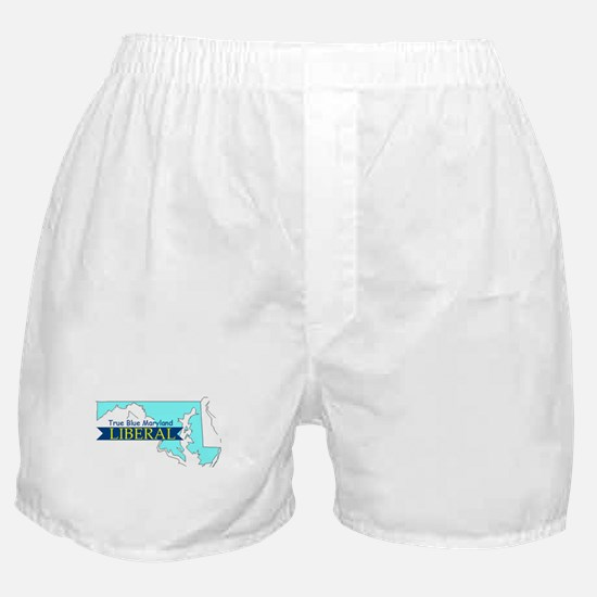 Boxer Shorts for a True Blue Maryland LIBERAL
