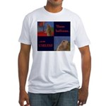 Dramatic Look Fitted T-Shirt