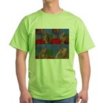 Dramatic Look Green T-Shirt