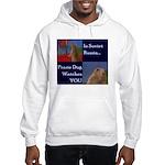 Dramatic Look Hooded Sweatshirt