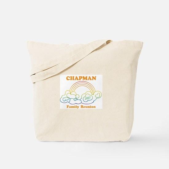 CHAPMAN reunion (rainbow) Tote Bag