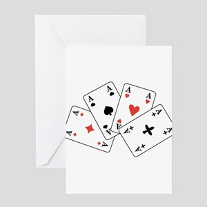 4 Aces - U-107 Greeting Cards