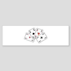 4 Aces - U-107 Bumper Sticker