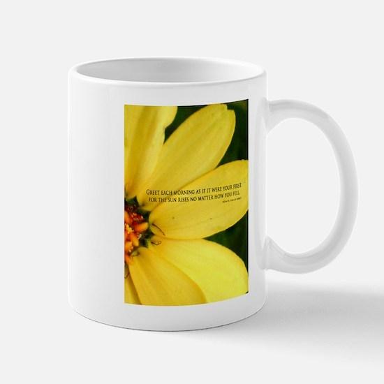 Greet each Morning Mug
