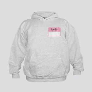 Hello My Name Is Kids Hoodie